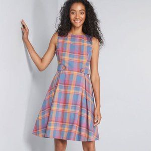 ☕️B2G1 Modcloth Something Sixties Cotton Dress